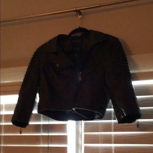 Jackets & Blazers - Size 2 women's leather jacket